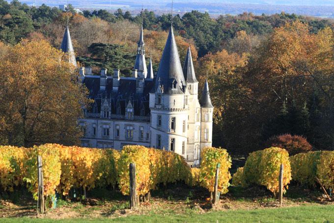 Le chateau du Nozet de la famille Ladoucette producteur de Pouilly-Fumé