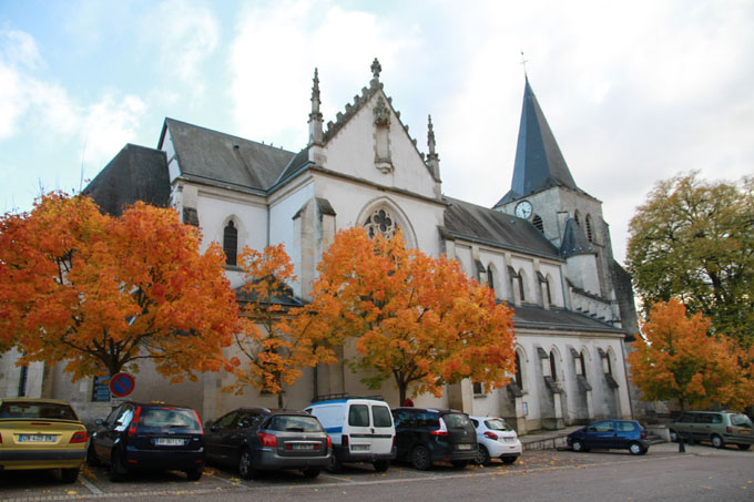 L'église de Pouilly-sur-Loire