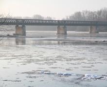 La Loire devient banquise