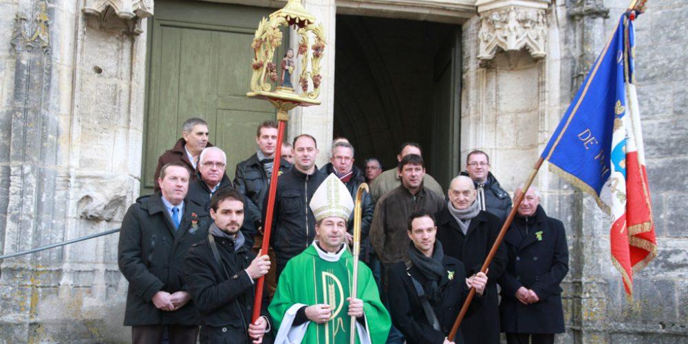 Saint-Vincent célébré en l'Eglise St-Pierre de Pouilly
