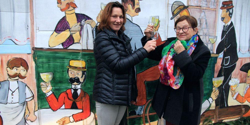 Mado Batt et Martine Beltramelli embellissent Pouilly
