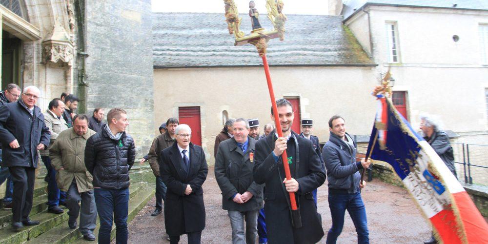 Saint-Vincent célébré dans le vignoble Pouilly-Fumé